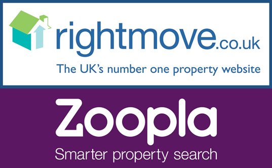 Your property on Right Move and Zoopla